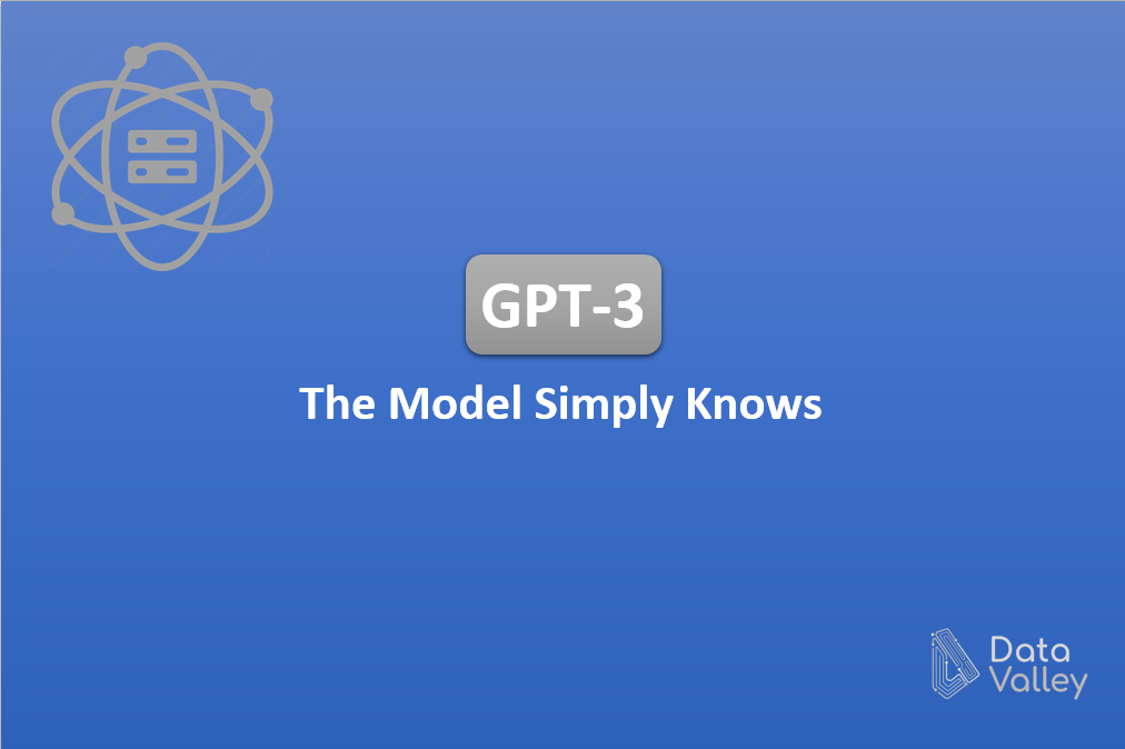 GPT-3, The model simply knows!